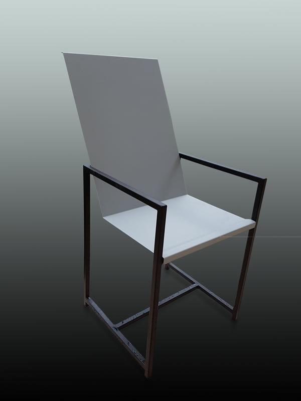 chaise acier 01.1