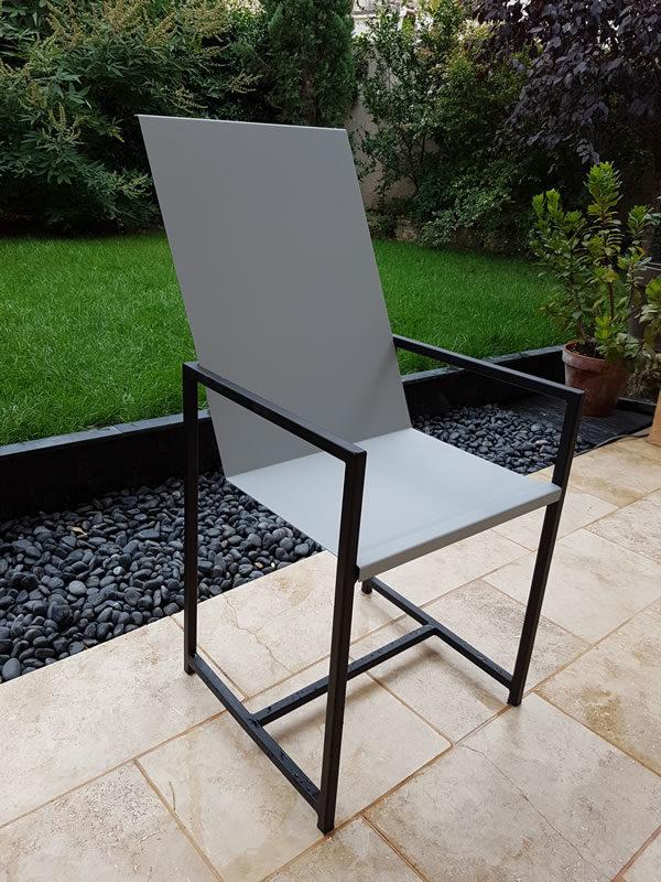 chaise acier 01.2