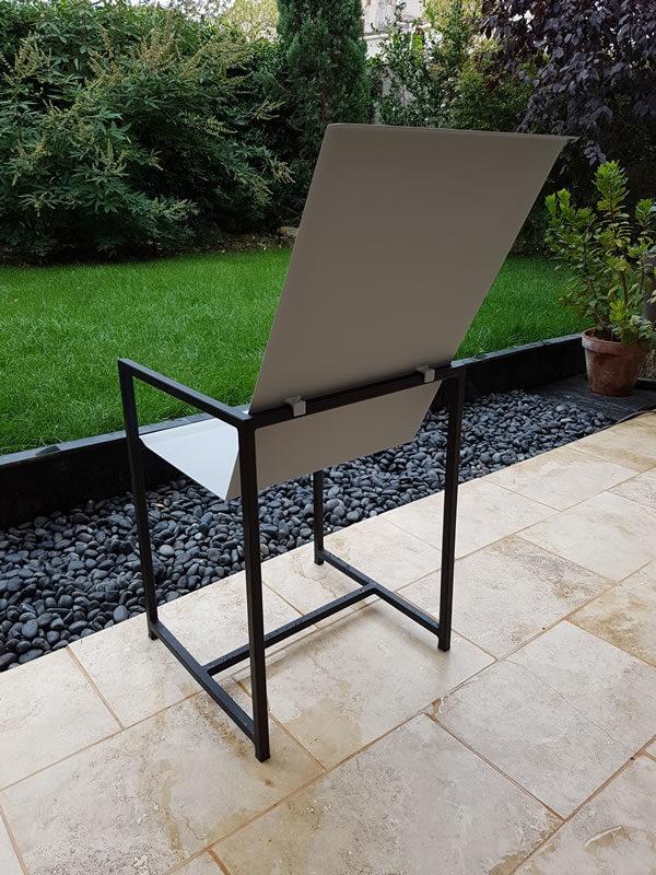chaise acier 01.3
