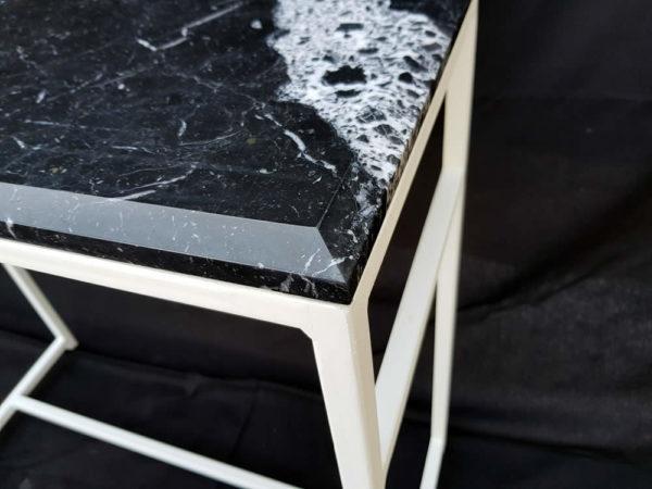 mezzato - console - marbre black marquina - piece d'exception (2)